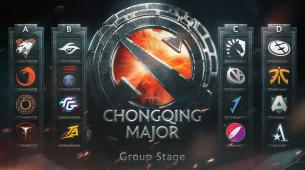 The Chongqing Major groups have been revealed
