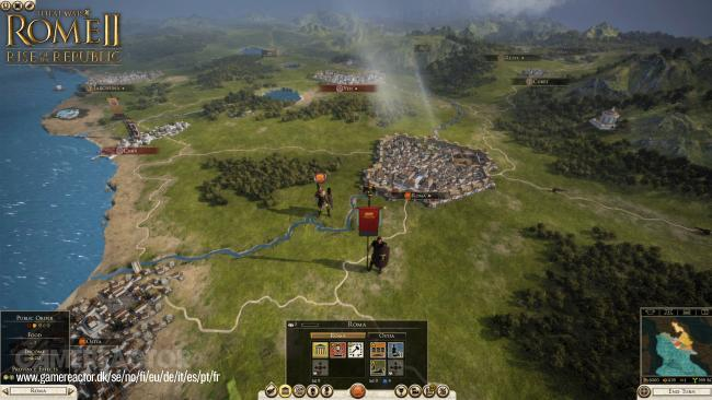 Total War : Rome II s'offre Rise of the Republic