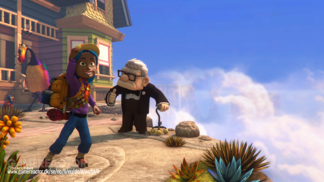 Test de Rush : A Disney Pixar Adventure
