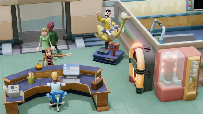 Two Point Hospital - Consoles