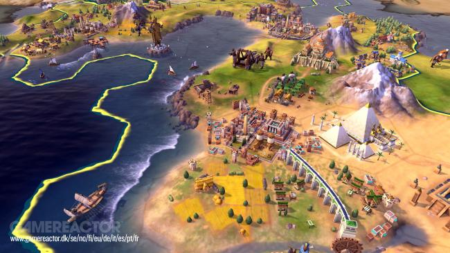 Take-Two confirme le succès de la version Switch de Civilization VI