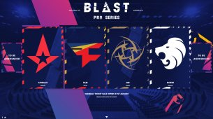 NiP and FaZe Clan confirmed for Blast Pro Series