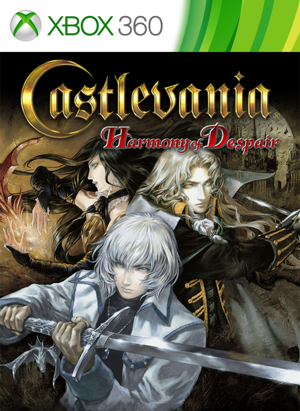 Castlevania: Harmony of Despair jouable sur Xbox One