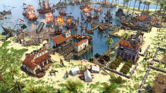 Un aperçu d'Age of Empires III: Definitive Edition