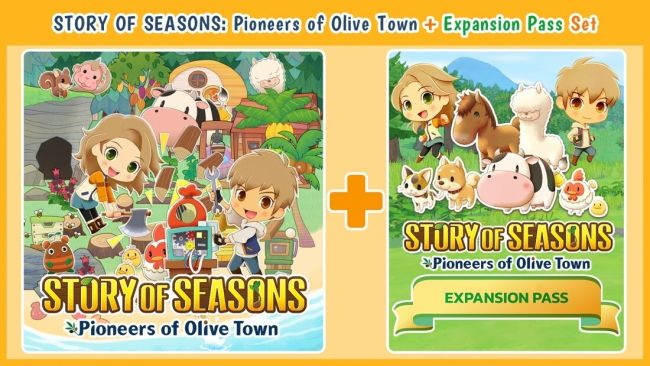 Story of Seasons: Pioneers of Olive Town dévoile son pass d'extension