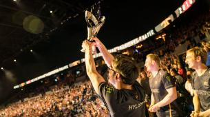 The EU LCS Spring Split finals won by Fnatic