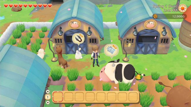Story of Seasons: Pioneers of Olive Town prévu pour mars sur Switch