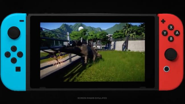 Jurassic World Evolution : Complete Edition - Aperçu de la version Switch