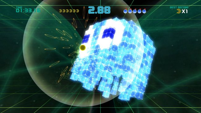 Du gameplay de Pac-Man Championship Edition 2 Plus