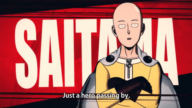 One Punch Man: A Hero Nobody Knows officiellement annoncé