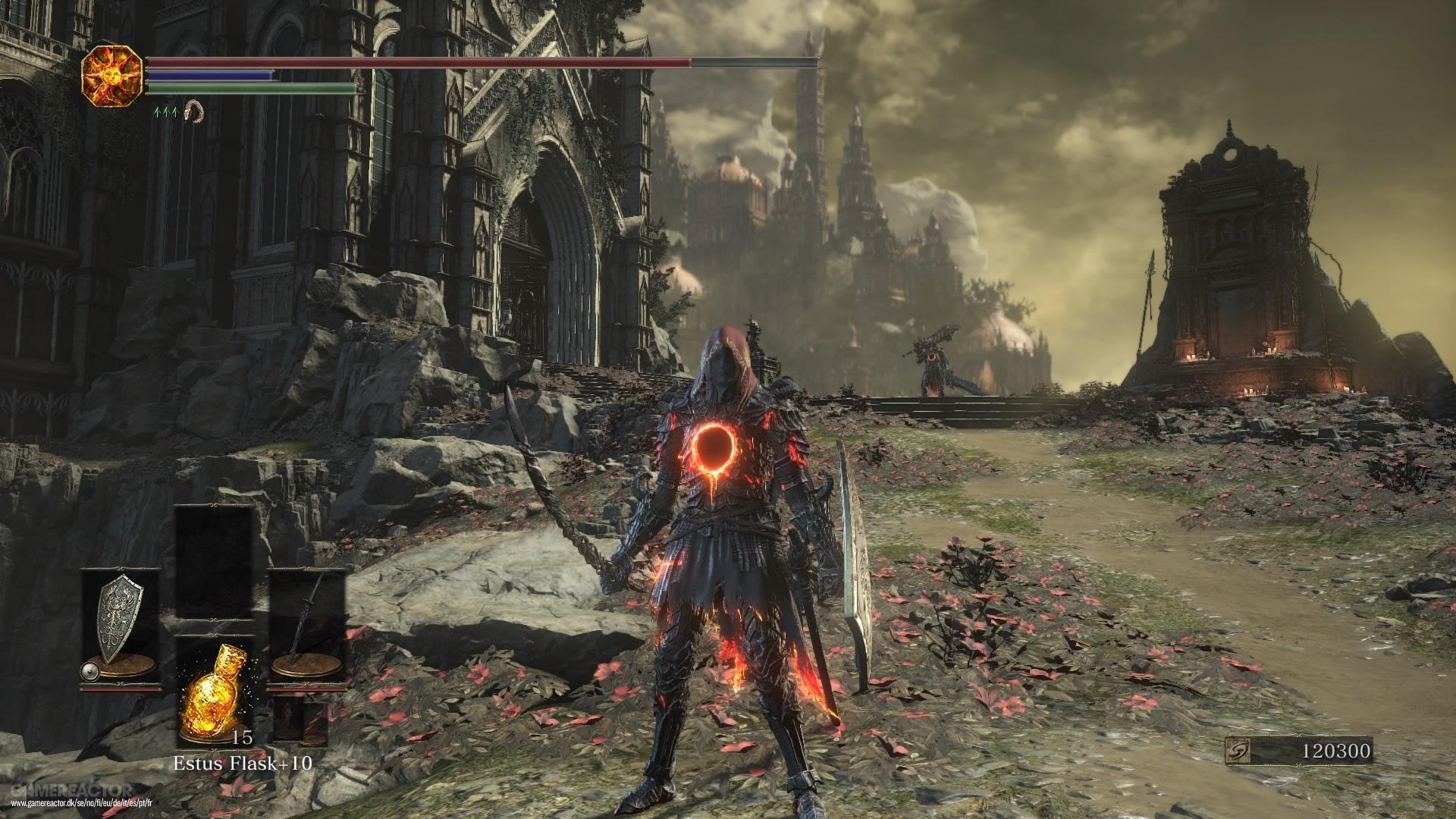 Dark Souls  Concept Art Environment Ringed City