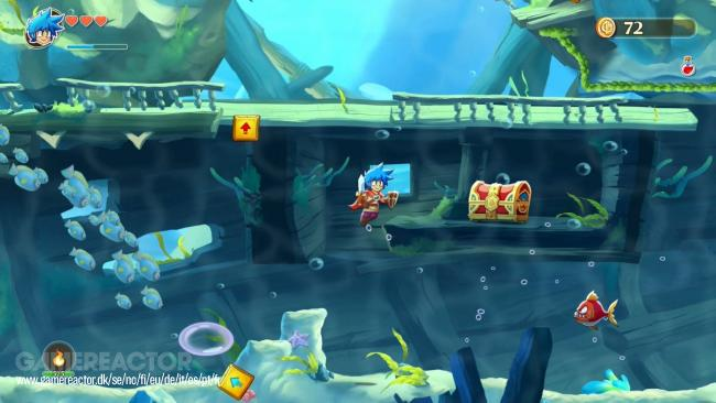 Enfin des images de Monster Boy