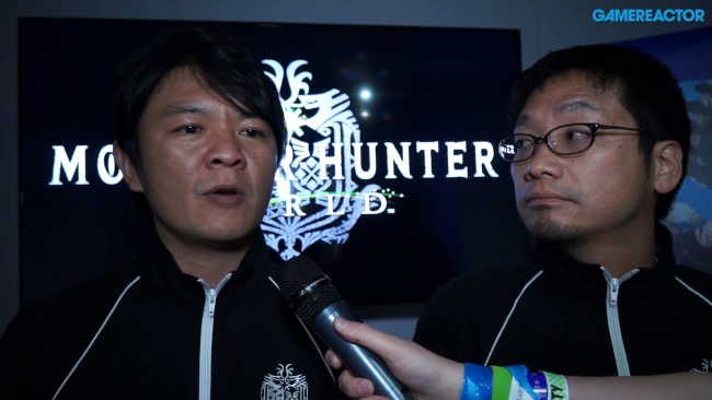 Ryozo Tsujimoto et Kaname Fujioka évoquent The World of Monster Hunter
