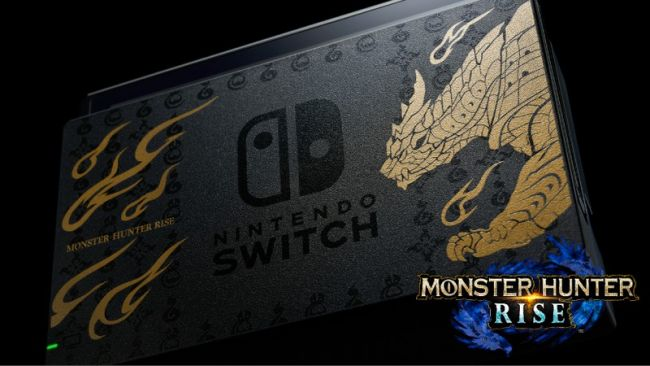 Découvrez la Switch Monster Hunter Rise !