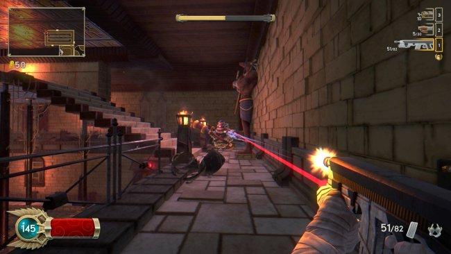 Les armes puissantes sont aussi pénalisantes. Par exemple, lexcellent fusil dassaut supprime le crosshair au profit dun laser, pour compliquer la visée.