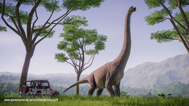Jurassic World Evolution : Retour à Jurassic Park
