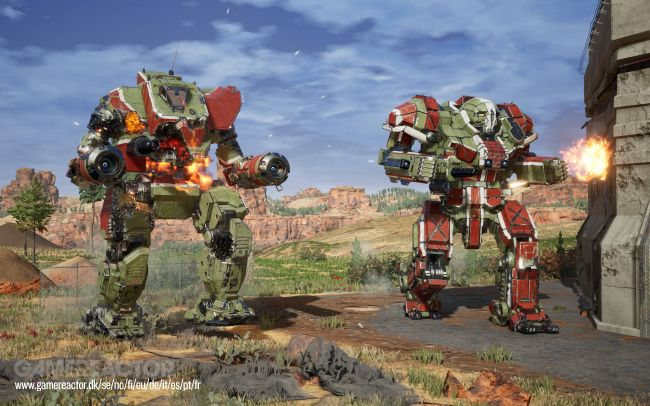 Mechwarrior 5: Mercenaries sort l'artillerie lourde