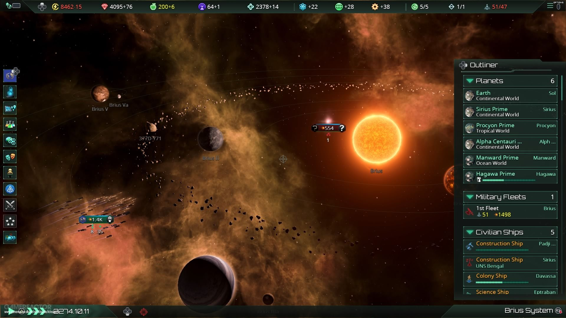 Stellaris Test