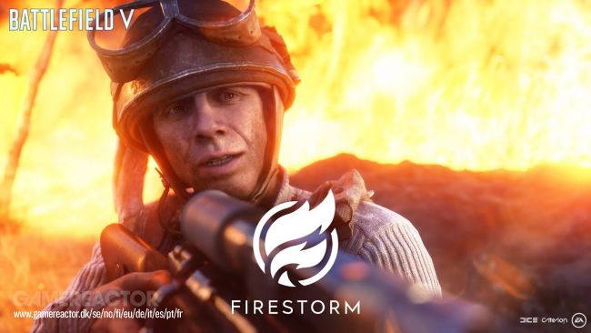 Battlefield V : Du gameplay de Firestorm !