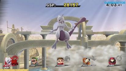 Super Smash Bros. for Wii U - Mewtwo Gameplay