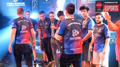 PES League Finals World Tour 2018 - Itw des vainqueurs du coop