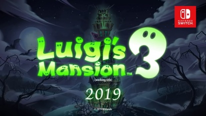 Luigi's Mansion 3 - Announcement Trailer
