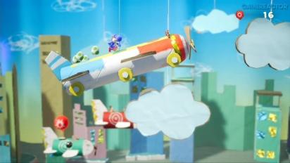 Yoshi's Crafted World - Encore du Gameplay