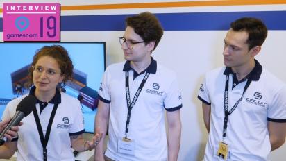 Circuit Superstars - Ornella, Carlos, and Alberto Caroline Mastretta Aguilera Interview