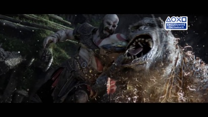God of War - Publicite 20 avril Exclu PS4