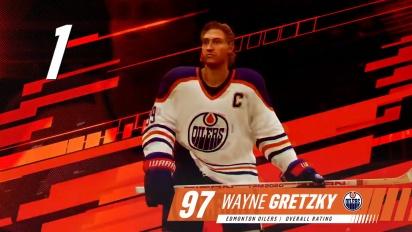 NHL 19 - Hockey Legends ft. Gretzky, Lemieux, Messier, Selanne, Forsberg, Beliveau