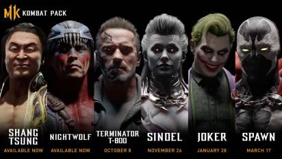 Mortal Kombat 11 - Kombat Pack Official Roster Reveal Trailer