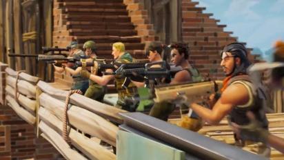 Fortnite - Battle Royale 50v50 Announce Trailer