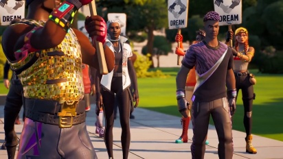 Fortnite : Hommage àMartin Luther King
