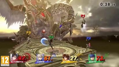 Super Smash Bros. for Nintendo 3DS & Wii U - Umbra Clock Tower Gameplay