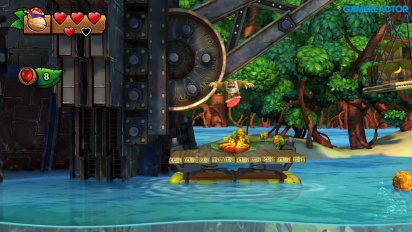 Donkey Kong Country: Tropical Freeze for Nintendo Switch - Level 1-1 Funky Kong Gameplay
