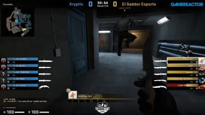 OMEN by HP Liga - Kryptik VS El Sadoor Esports on Overpass.