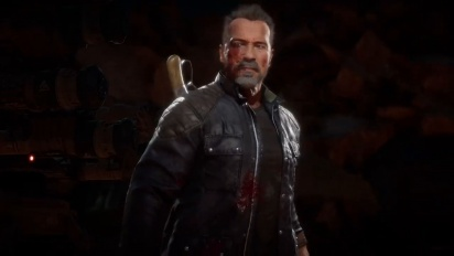 Mortal Kombat 11 Ultimate   Official Terminator vs. Rambo Trailer (Round 2)