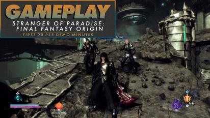Stranger of Paradise: Final Fantasy Origin - Demo Gameplay