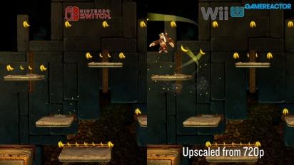 Donkey Kong Country: Tropical Freeze - Première vidéo de comparaison Nintendo Switch vs Wii U