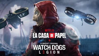 Watch Dogs : Legion en mode Casa de Papel
