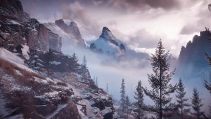 Horizon Zero Dawn: The Frozen Wilds - Japanese Landscape Trailer