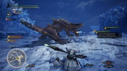 Monster Hunter: World - Iceborne - Tigrex Hunt Gameplay