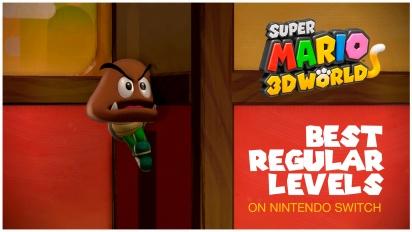 Super Mario 3D World - Top Best Regular Levels on Nintendo Switch