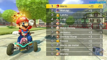 Mario Kart 8 Deluxe - Gameplay mode Capture de Soleil (1080p60)