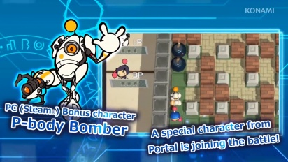 Super Bomberman R - P-Body Reveal Trailer