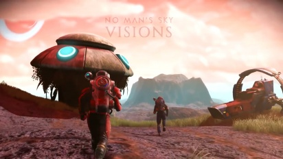 No Man's Sky - Visions Trailer