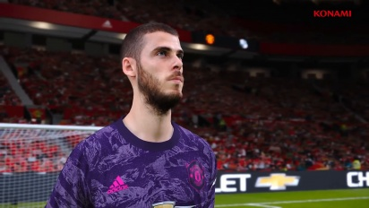 eFootball PES 2020 - Manchester United Partnership Announcement Trailer