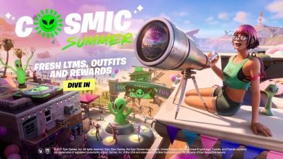 Fortnite - Cosmic Summer Event Trailer