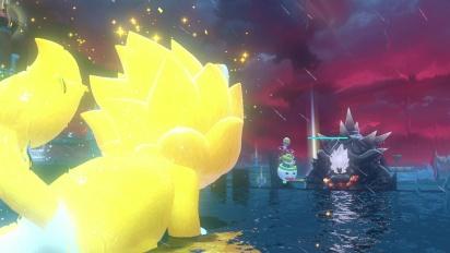 Bowser's Fury - Final combat, end credits, and unlocking bonus Mario and Bowser Jr. Cat skins