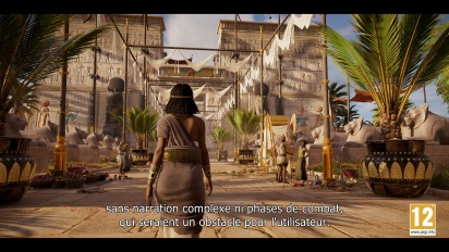 Assassin s Creed Origins - The Discovery Tour - Trailer de lancement